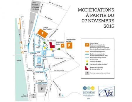 Construction parking public & Résidence Albert 1er