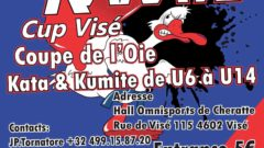 compétition internationale de Karaté à Visé !