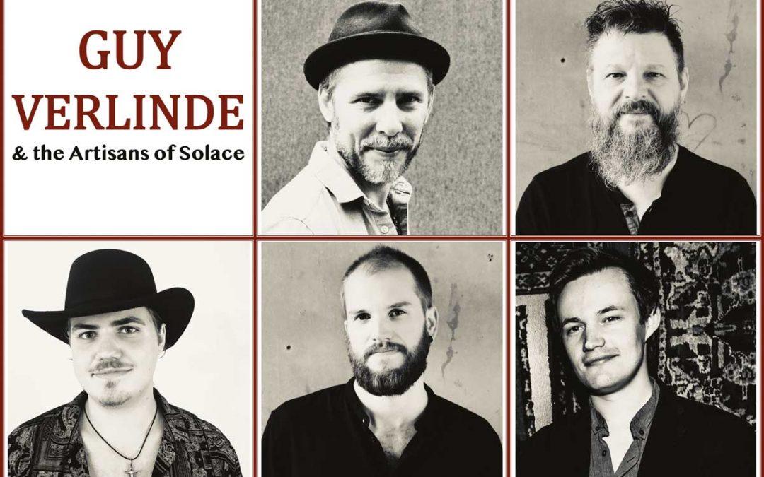 Guy Verlinde & the Artisans of Solace en concert exclusif !